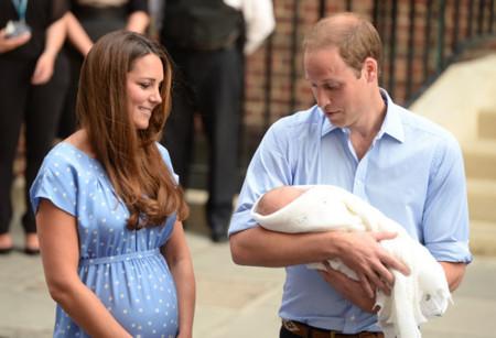 Bebé real Príncipe Guillermo