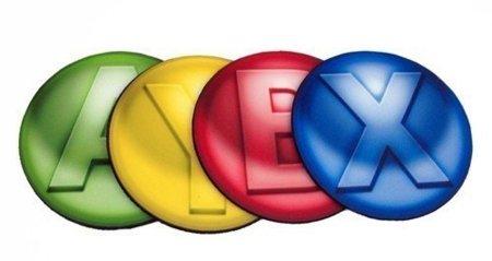 Posavasos de los botones de un mando de Xbox 360