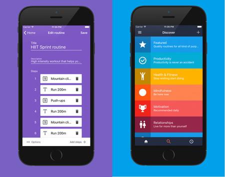 Tinygain: una app que ayuda a crear rutinas, de entenamiento y otras, para mejorar la salud