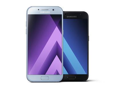 Galaxy A (2017): la resistencia al agua llega a la familia de gama media de Samsung