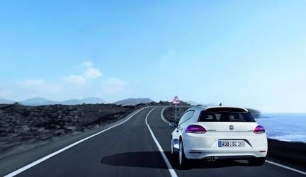 Volkswagen Scirocco carretera