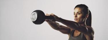 Entrenamiento full-body en tiempo real con kettlebell