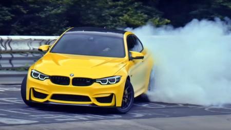 ¡Desatado! Pennzoil se ha llevado un BMW M4 CS para sacarle todo el jugo entre humo y goma quemada
