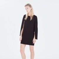 Vestido Capa Zara
