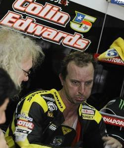 Colin Edwards no estará en el Gran Premio de Valencia