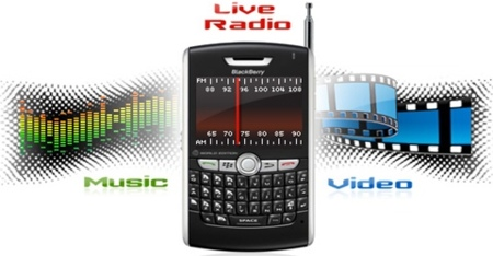 Mobiola xPlayer, radio en streaming para BlackBerry
