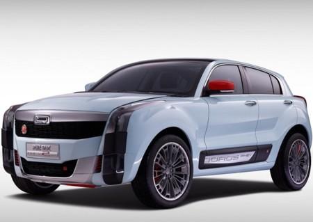 Qoros 2 SUV PHEV Concept, ¿De qué le ven cara?