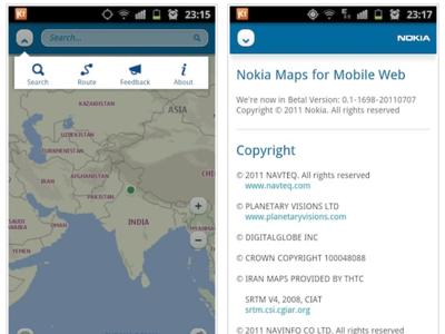 Nokia Maps para iOS y Android gracias a una aplicación web