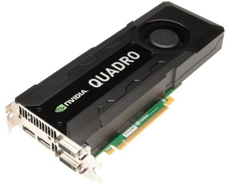 NVidia Quadro K5000 llega al mercado con una nueva Maximus bajo el brazo