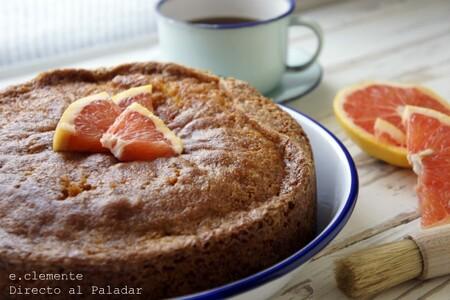 Bizcocho de pomelo glaseado: receta para un desayuno o merienda para chuparse los dedos