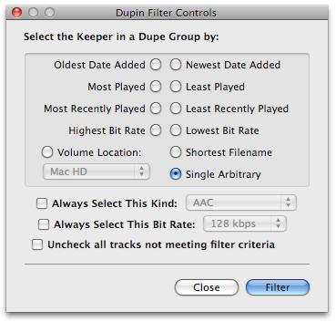 Dupin, elimina automáticamente duplicados en iTunes