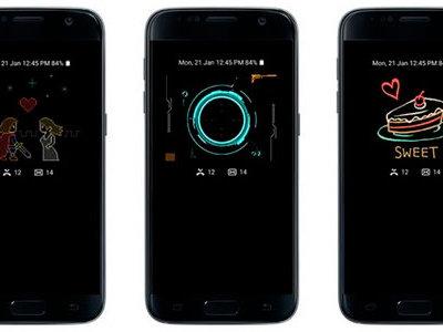 Always On se actualiza y trae funciones del Note 7 a los Samsung Galaxy S7 y S7 edge [APK]