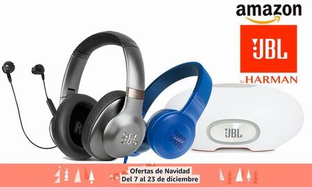Regalar unos auriculares o un altavoz Bluetooth JBL estas navidades sale más barato con estas ofertas de Amazon