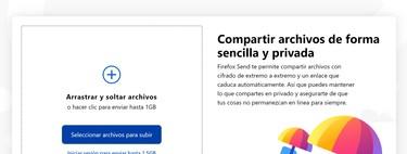 Firefox Send: cómo usarlo para enviar archivos en PC y Android