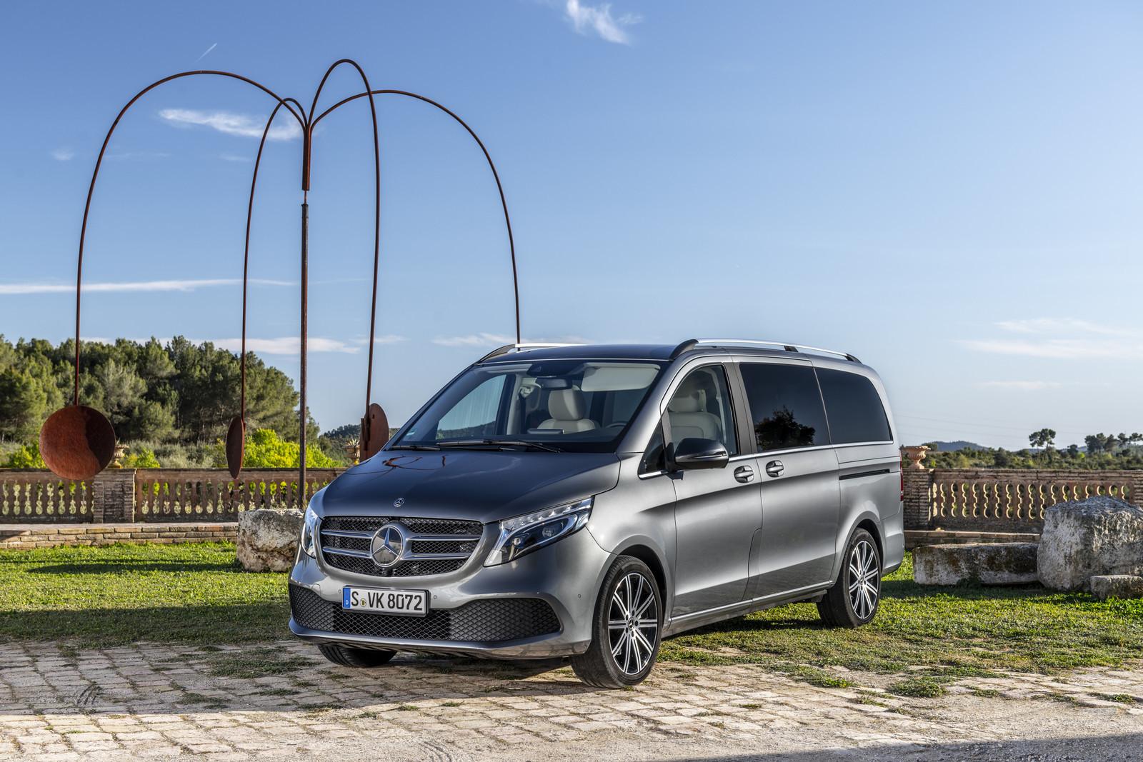 Foto de Mercedes-Benz Clase V 2019 (17/92)