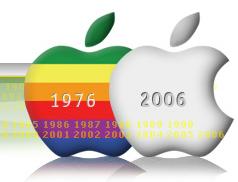 Apple cumple 30 años, felicidades