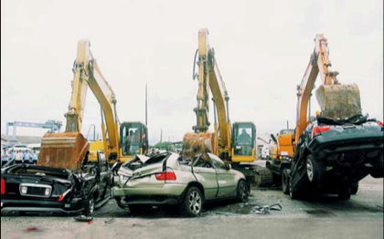 Crimen de guerra automovilístico en Filipinas
