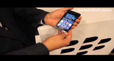 El primer video del BlackBerry L-Series con BlackBerry 10