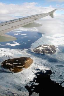 Excursión opcional (IV): vuelo sobre la Antártida