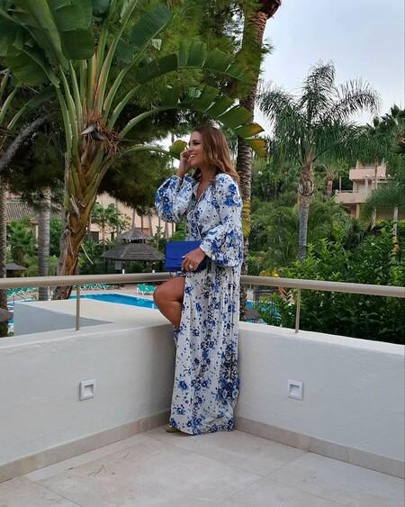 Paula Echevarría demuestra el poder de los vestidos de flores para la noche con dos looks ideales
