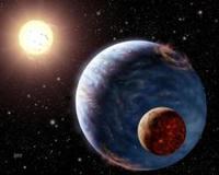 Se encuentra agua en planetas de formación
