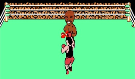 La pelea del siglo también es aburrida en Punch Out!!