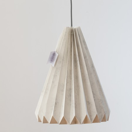 Solpor Lampara Diseno Origami Nordico Arquitectura Interiorismo