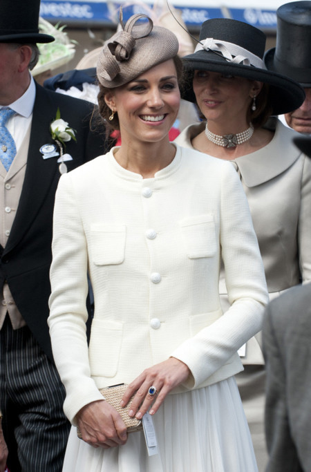 Kate Middleton sombrero look