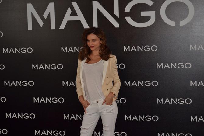 Foto de Miranda Kerr para Mango, rueda de prensa (2/16)
