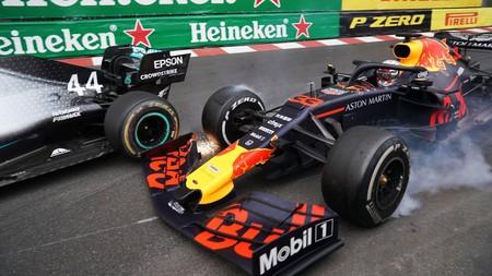 Verstappen Hamilton Monaco F1 2019