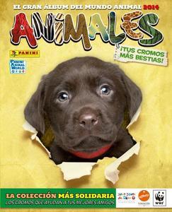 """""""Animales 2014"""": nueva y educativa colección de Panini que llega con secciones y cromos especiales"""