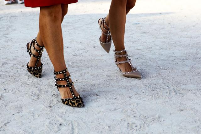 Zapatos Con Tachuelas Imitacion Valentino