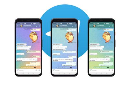 Cómo poner un tema distinto a cada chat de Telegram
