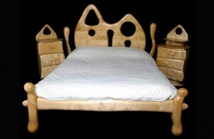 Allan Lake: un dormitorio de diseño