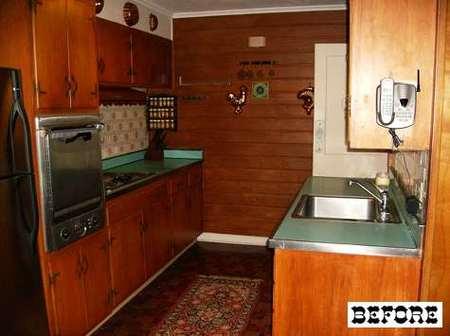 Antes y después: una cocina en blanco