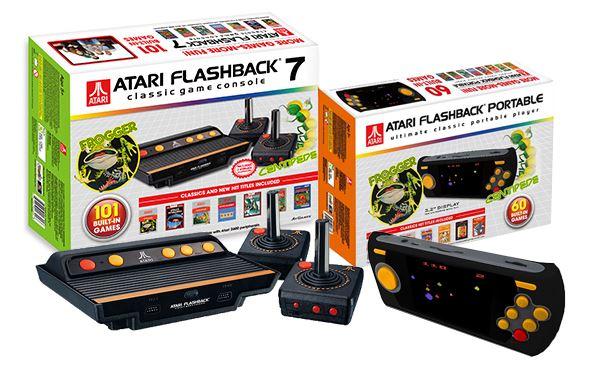 Atari actualiza su versión mini por partida doble con los nuevos modelos de Atari Flashback