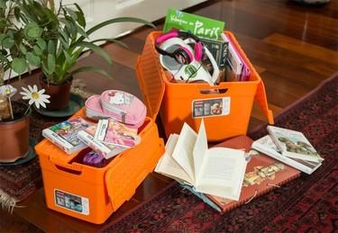 Las cajas de plástico pueden ser tus grandes aliadas a la hora de organizar el almacenaje