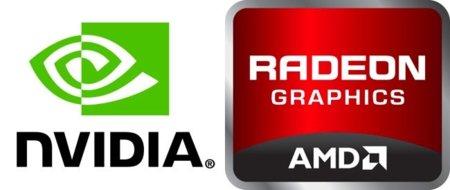 NVidia AMD logos