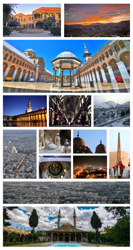 Damascus Montage
