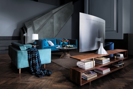 Detalle de la trasera de los nuevos televisores QLED TV