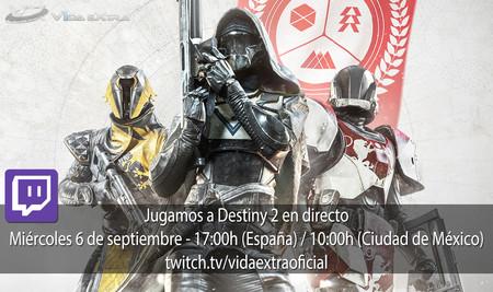Jugamos en directo a Destiny 2 a las 17:00h (las 10:00h en Ciudad de México) [Finalizado]