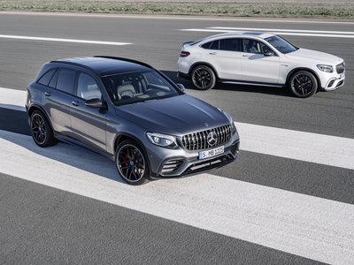El Mercedes-AMG GLC 63 4MATIC+ parte de los 109.625 euros y no hay quien le haga sombra en cuanto a potencia