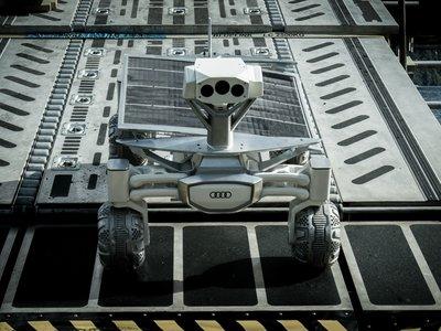 Este es el robot que Audi quiere mandar a la Luna después de debutar en 'Alien: Covenant'