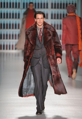 Etro, colección Otoño-Invierno 2009/2010, abrigo