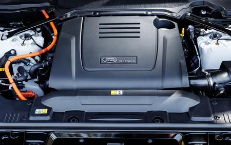 Range Rover Sport PHEV motor