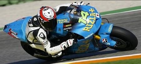 Randy De Puniet, piloto probador del proyecto de Suzuki en MotoGP (Actualización)