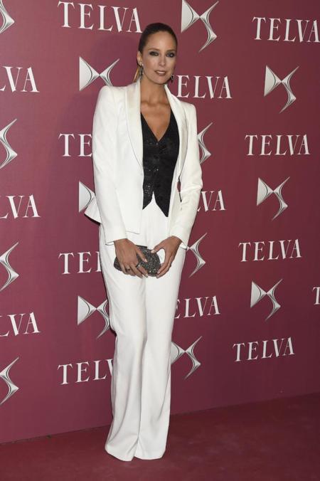 Estafania Luyk en la entrega de premios T de Telva
