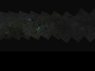 Esta es la fotografía más grande realizada a la Vía Láctea