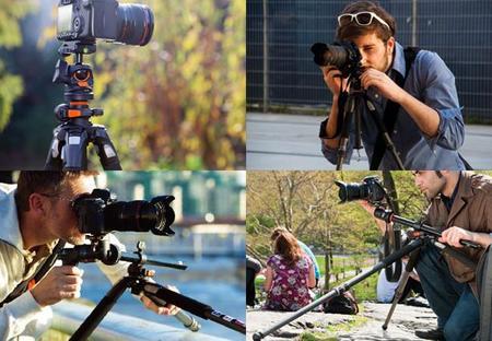 Tripode fotógrafos aventureros