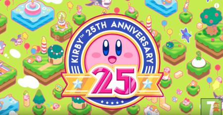 Nintendo sigue celebrando el cumpleaños número 25 de Kirby, ¡feliz cuarto de siglo!